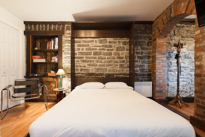 Well-located, Charming Studio in Old Lévis