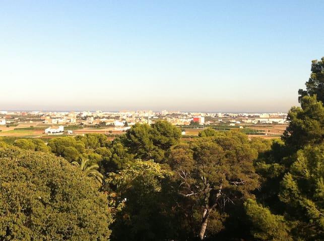 Apartamento preciosas vistas-Balcón de la Huerta - Godella - Flat