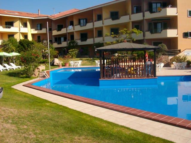 Splendidi appartamenti con piscina: 2° piano