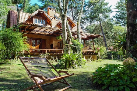 Chalé Cottage nas montanhas (Monte Verde - MG)