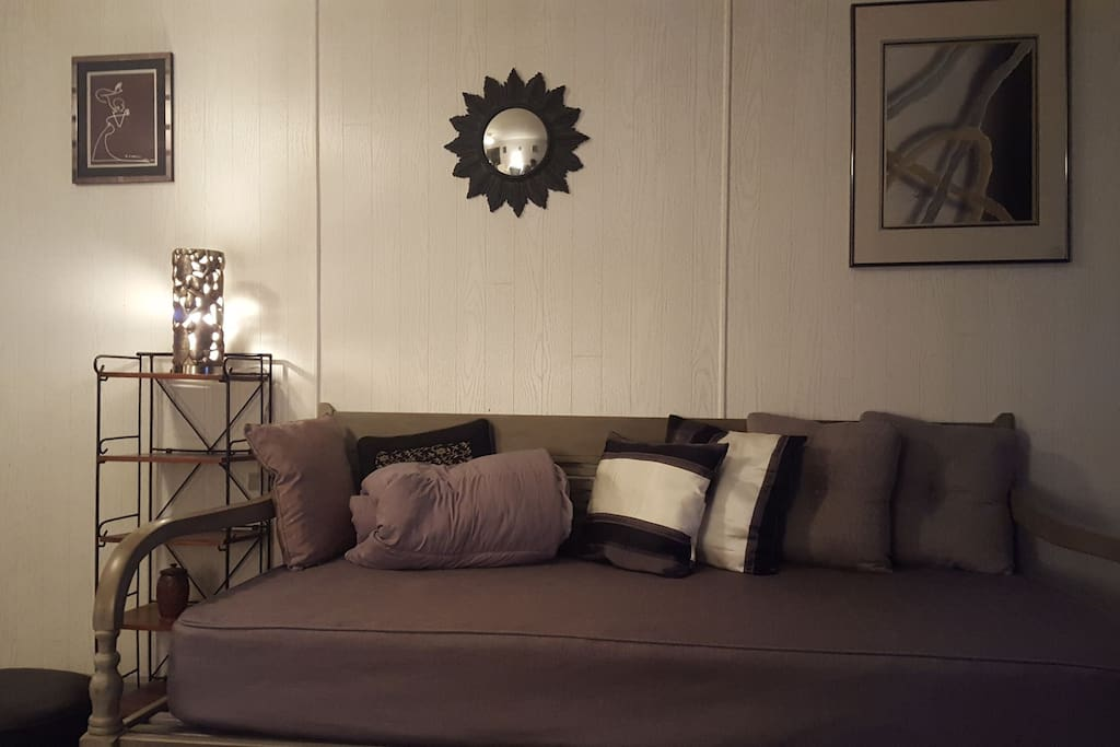 Single Bed-Your bed downstairs