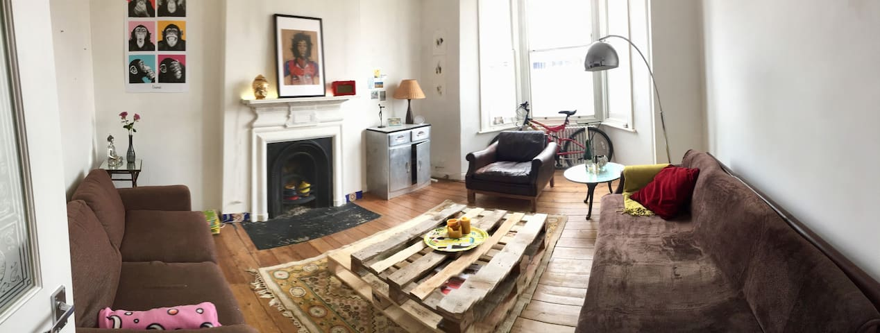 Cosy double bedroom in nice area (central london)