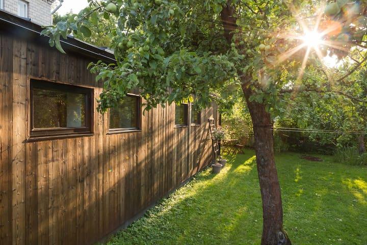 Tiny house in Tallinn seaside/river area