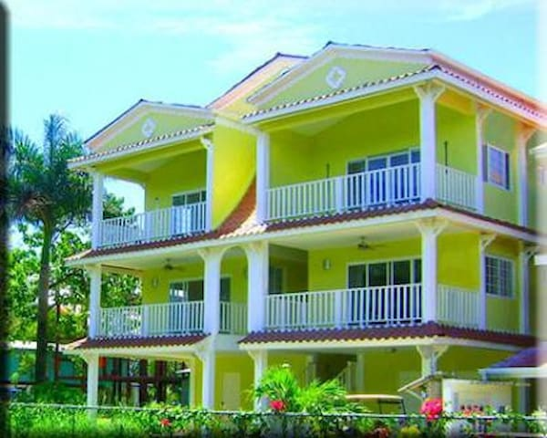 Spacious 1Bcondo, pool, near beach  - Bocas Del Toro - Apartment