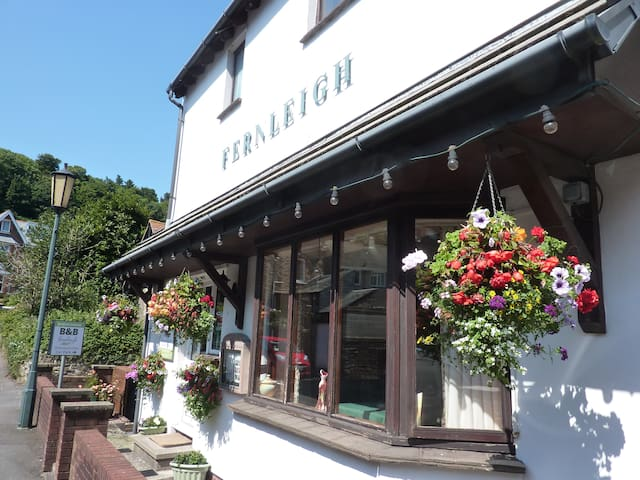 Small Twin Room - Fernleigh B&B - Lynton - Bed & Breakfast