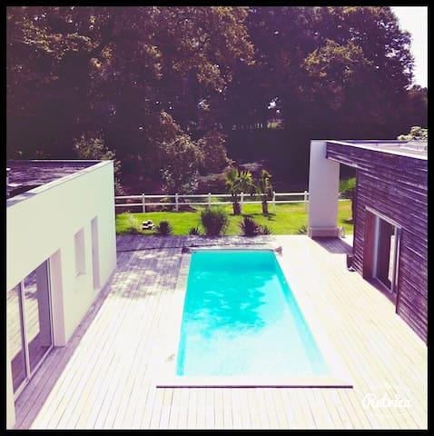 maison d'architecte proche Bordeaux - Fargues-Saint-Hilaire - Talo