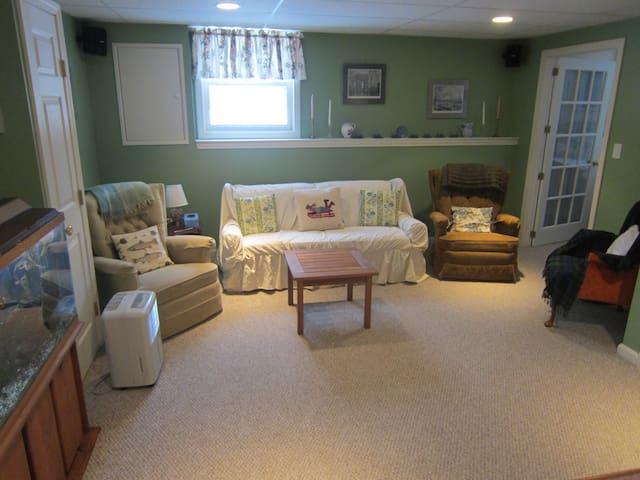 Guest suite in single family home. - South Burlington - Flat