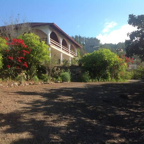 Villa con vista del valle