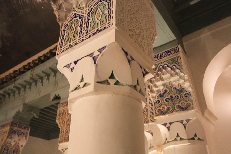 La maison aux belles colonnes