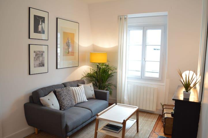 Quiet  flat in central Paris - Paris - Apartment