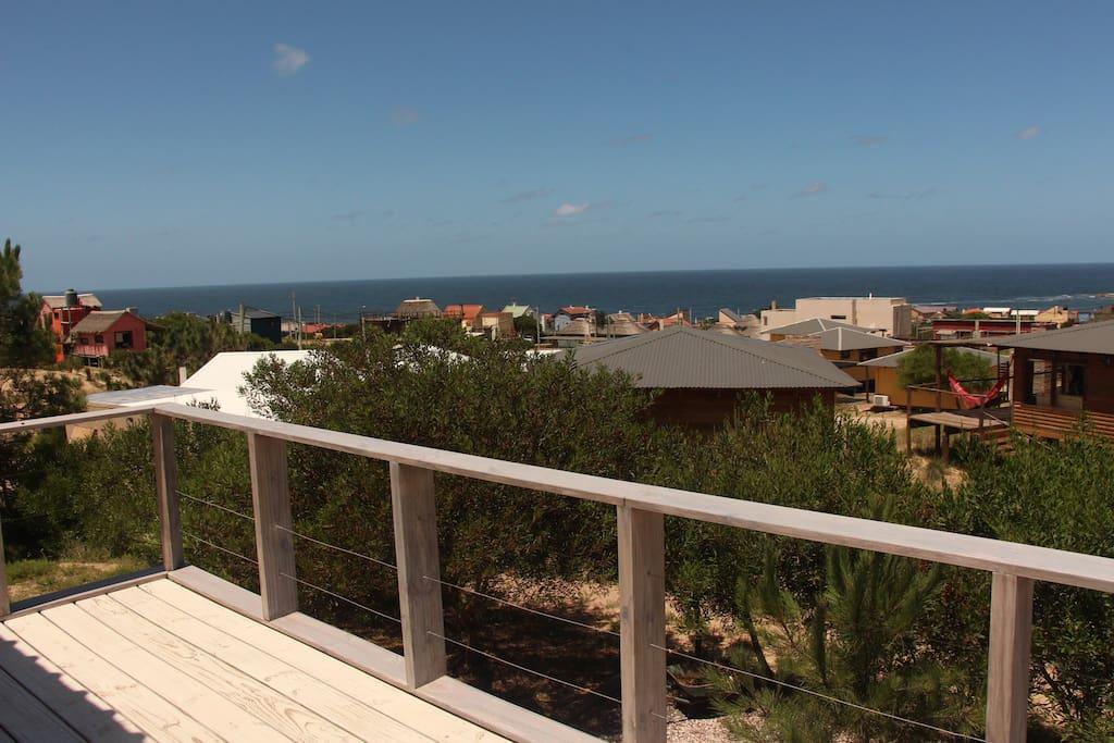 Vista desde el deck planta alta