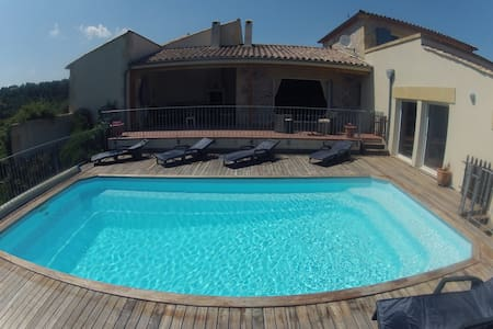5 bed villa with a view! Wow! - Durban-Corbières - Dom