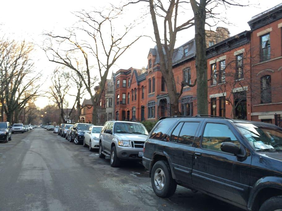 Charming, quiet street
