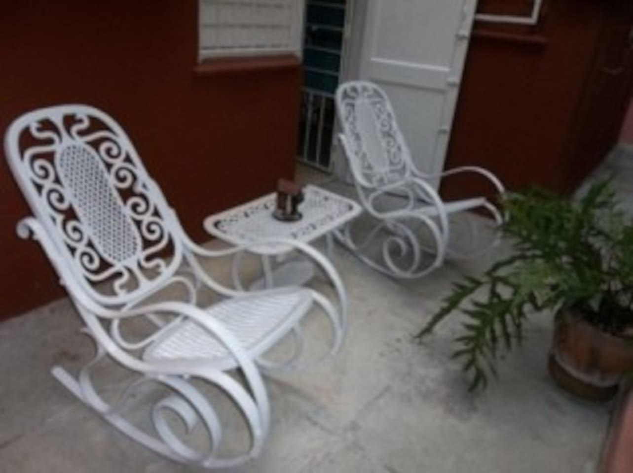 Comfy terrace for your relax