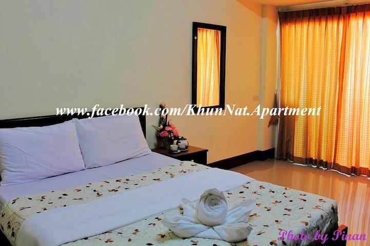 คุณณัฏฐ์ อพาร์ทเม้นท์  Khun-Nat Apartment - Songkhla - Appartement