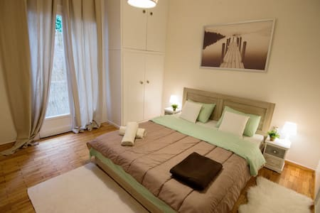 Acropolis 10 min walk,metro 5'.Central apartment. - Ateena - Huoneisto
