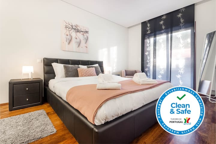 Pink Apartment - apartamento espaçoso com piscina