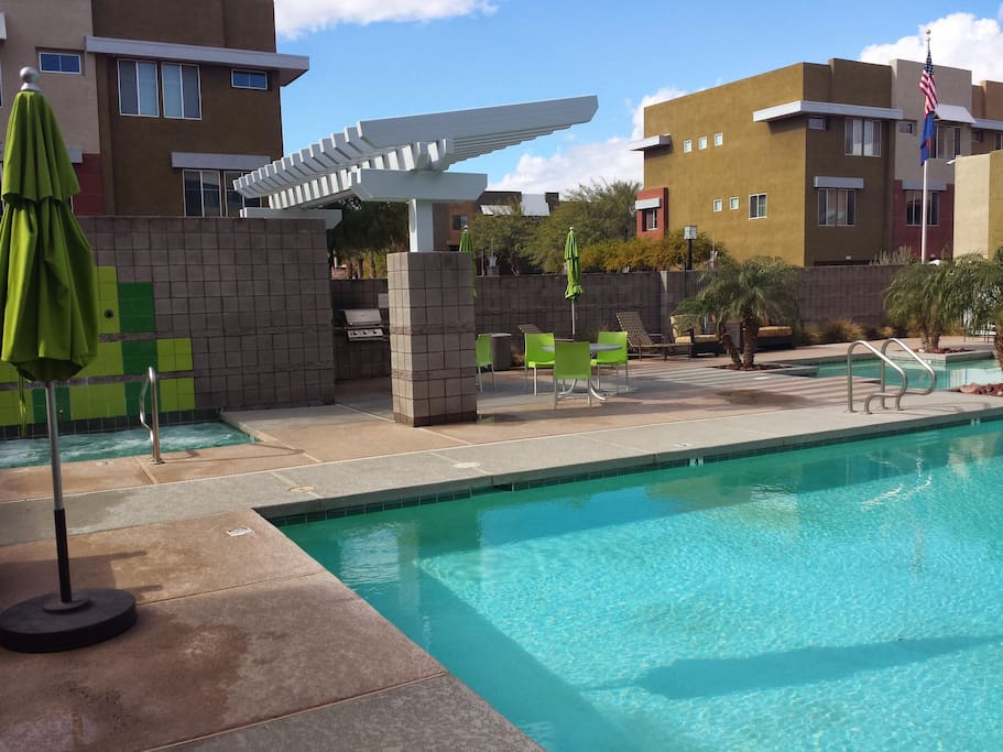 Pool and Spa Area.  There are 2 of these areas.