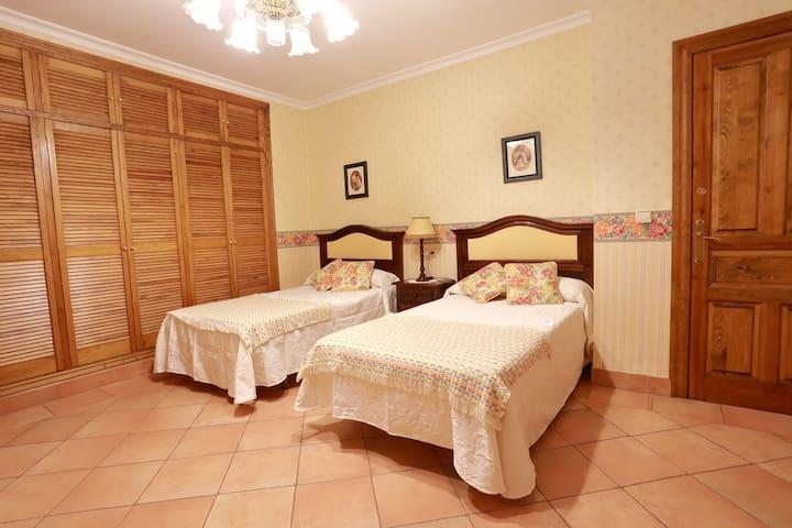 Dormitorio camas de 1,05