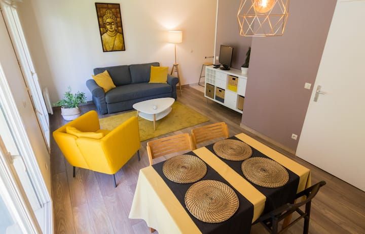 Modern studio with parking & terrace VIEUX LILLE
