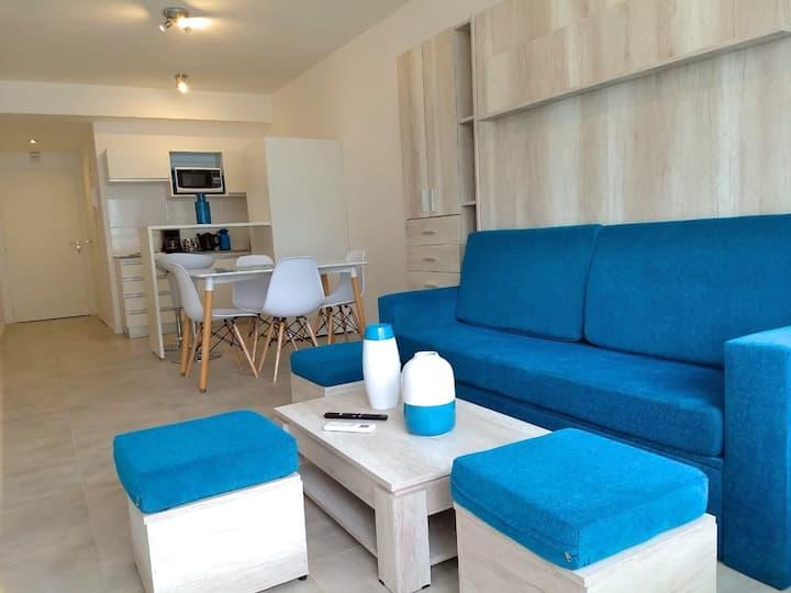 Studio excelente ubicacion, vintage y confortable