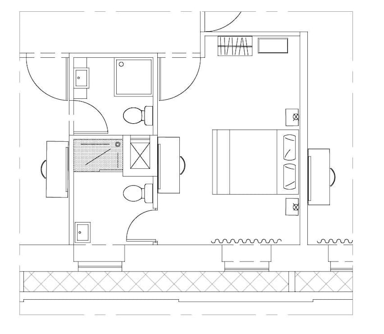 Typical Luxury Room Layout Plan L2