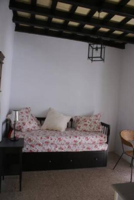 Chambre studio lit gigogne 160 x 200