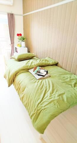 Room202☆FreeWIFI13minHakataSta.19minFukuokaAirport - Sawara-ku, Fukuoka-shi - Apartment