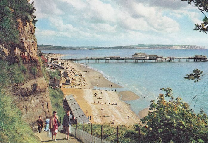 Large balcony with great sea views  - Shanklin - Appartement