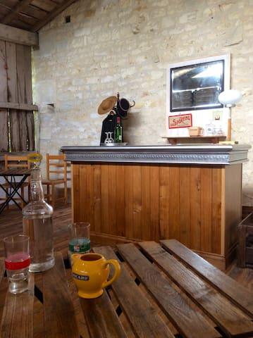 Thouvenin has its own cafe-bar