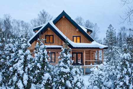 Beautiful and cozy log home - Faház