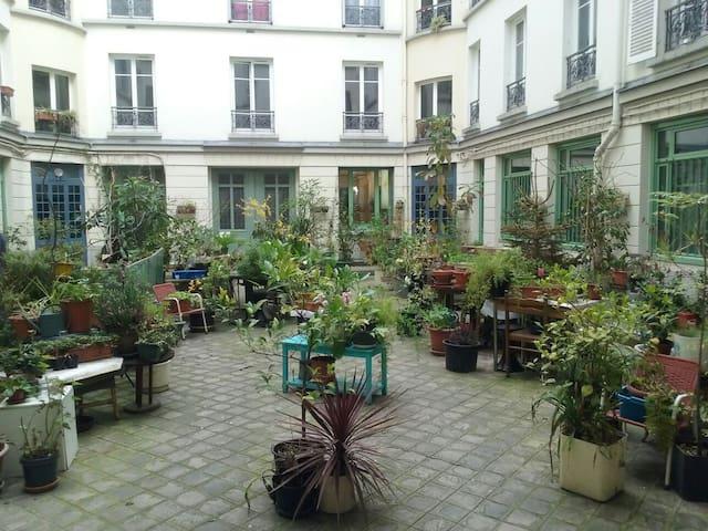 2 pièces cosy au cœur de Paris - Parijs - Appartement