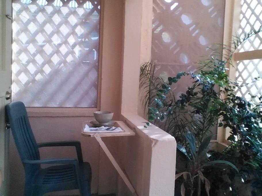 Enclosed atrium
