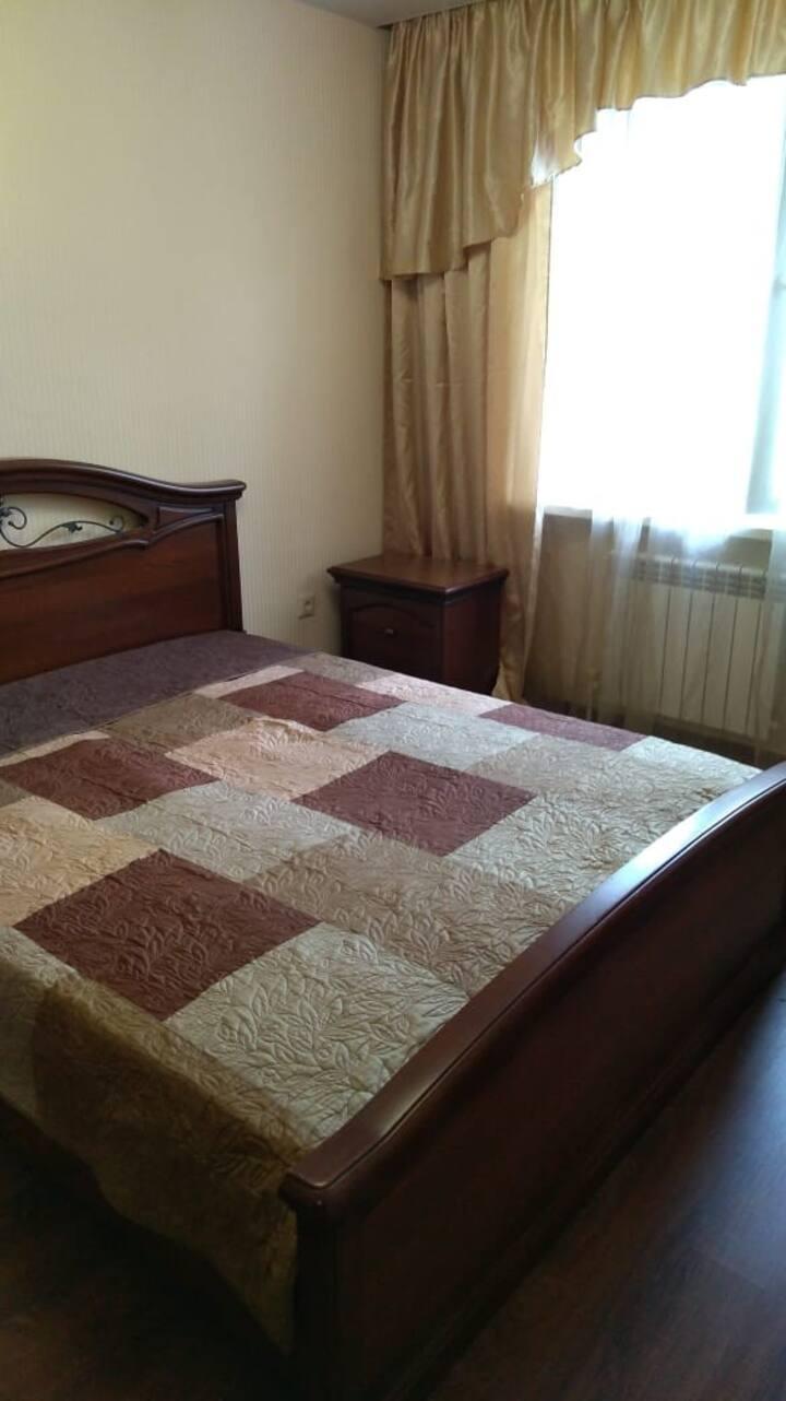 Уютная квартира,в новом красивом доме.