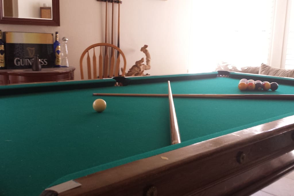 Pool table from 1800's.