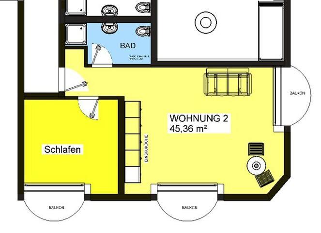 Appartement im Herzen von Böblingen