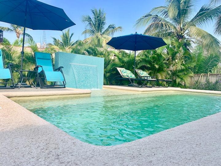 Villa 5  Private beach house in San Pancho