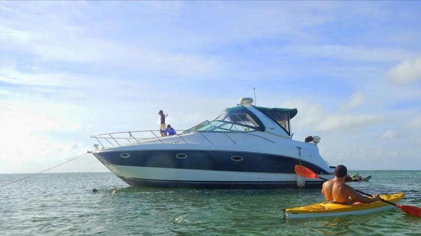 35 ft Maxum.  FLORIDA EXPERIENCE