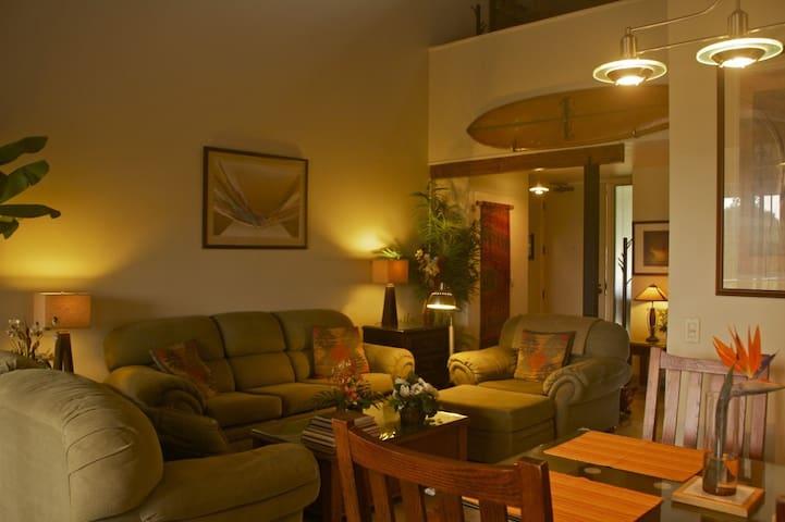 Comfortable luxury in remod 2br 2ba 2 lanai Condo - Princeville - Daire