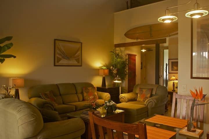 Comfortable luxury in remod 2br 2ba 2 lanai Condo