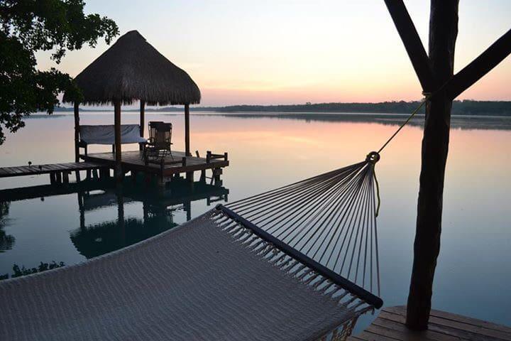Hermosa casa en la Laguna Bacalar!! - Xul-ha - Haus