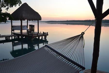 Hermosa casa en la Laguna Bacalar!! - Xul-ha