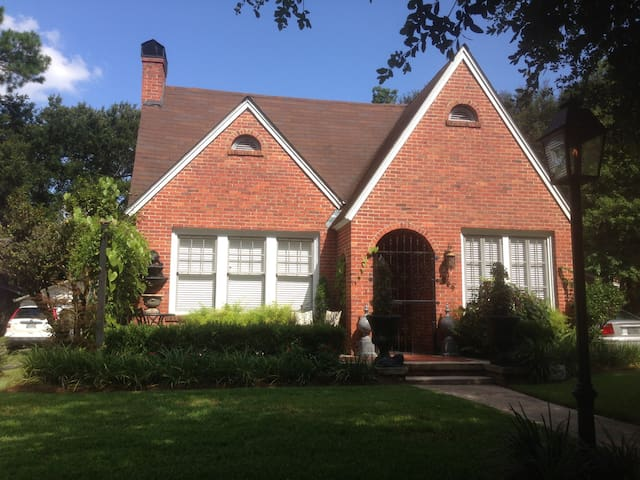 English Tudor Cottage in Midtown - Mobile - House