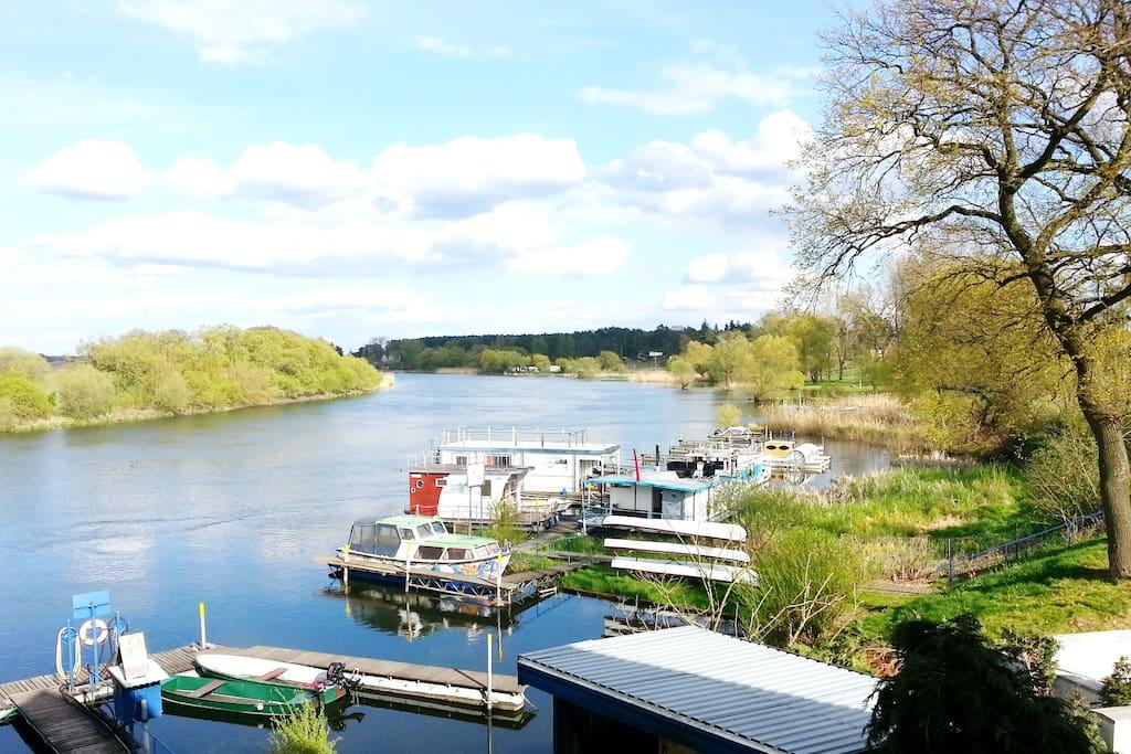 Wassergrundstück Havelboot-Marina