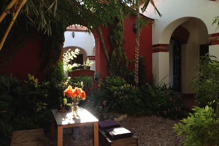 Green and Peaceful right in the center - 1 - Oaxaca - Maison