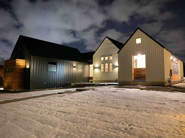 Scandinavian Modern Farmhouse - Ski Pad