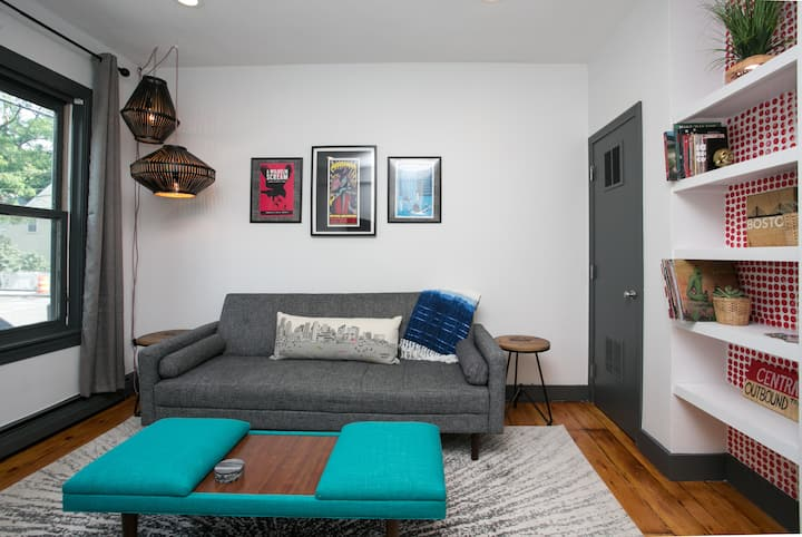 Contemporary 2BR in Central Sq! Harvard/MIT