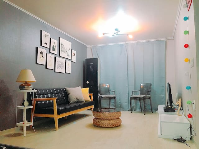 《대화역5분♡킨텍스1분》KINTEX1min.꽃박람회.원마운트.아쿠아리움.2room.4bed - Ilsanseo-gu, Goyang-si - Appartement