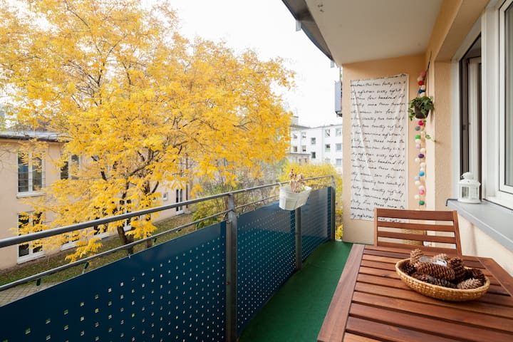 Great, good lighting and cozy apart - München - Wohnung