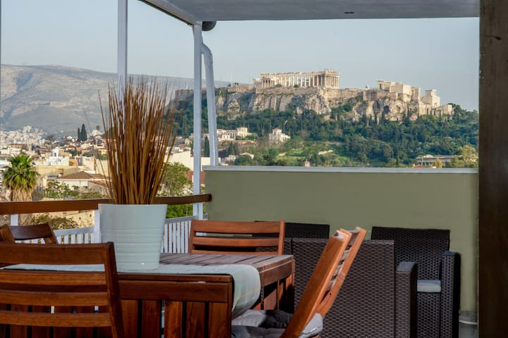 Acropolis in my balcony!!!